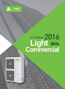 Catalog for Air Conditioners Light Commercial CHIGO