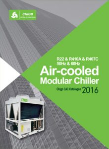 Catalog for Air-Cooled Modular Chiller CHIGO