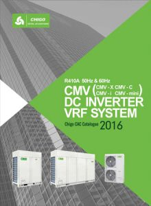 Catalog for VRF Systems CHIGO