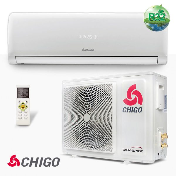 Wall mounted Inverter air conditioner CHIGO CS-70V3G-1H169S-W3 от chigo.bg 10243