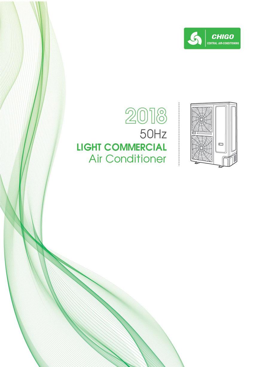 Каталог Промишлена климатизация CHIGO 2018