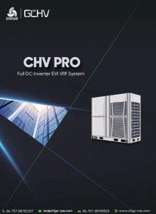 Каталог VRF PRO EVI системи CHIGO 2020
